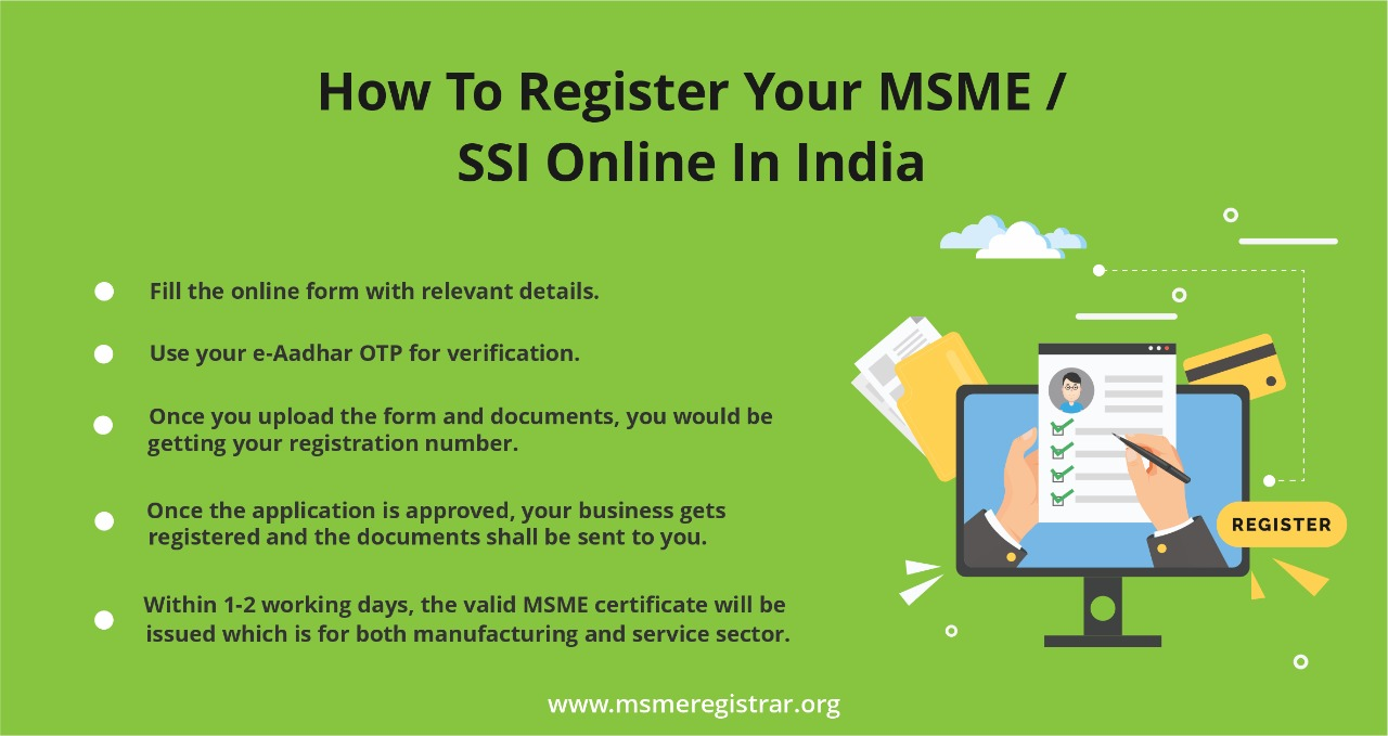 How To Register Your MSME/SSI Online In India | MSMERegistrar
