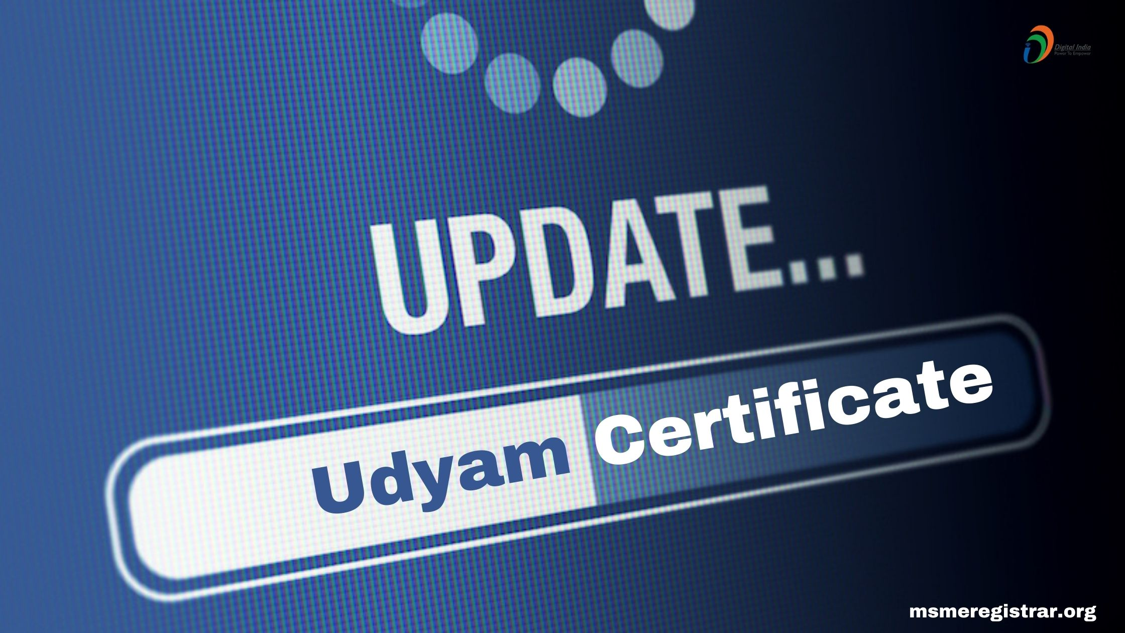 How to Update Udyam Certificate Online ?